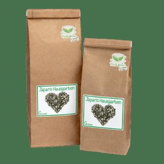 TeaLaVie-Blockbodenbeutel-Gruener-Tee-Japans-Hausgarten