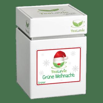 TeaLaVie-Teedose-diagonal-Xmas-Tee-Grüne Weihnacht