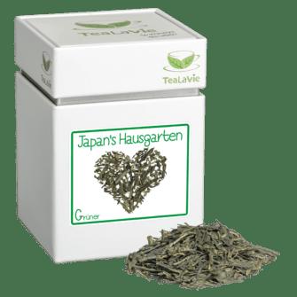 TeaLaVie-Teedose-diagonal-Haufen-Gruener-Tee-Japans-Hausgarten
